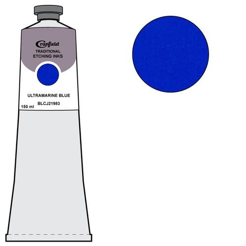 Cranfield Traditional Etching Ink Ultramarine Blue 150 ml tube