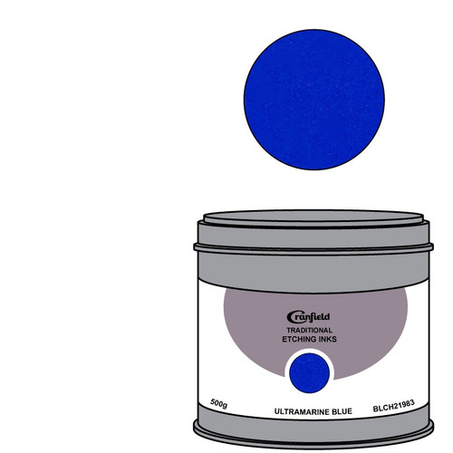Cranfield Traditional Etching Ink Ultramarine Blue BLC 21983