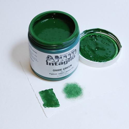 Oxide Green Akua Intaglio IIOG