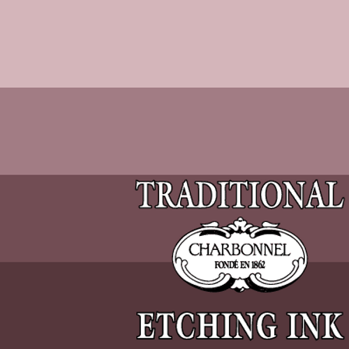 PR102-PV19-PB15:3 Van Dyck Brown - Charbonnel Traditional Intaglio Etching Ink