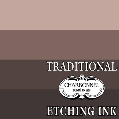 PR101-PBK6-PY3 Basic Bistre - Charbonnel Traditional Intaglio Etching Ink