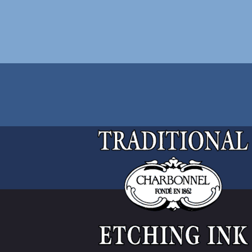 PB27 Prussian Blue - Charbonnel Traditional Intaglio Etching Ink