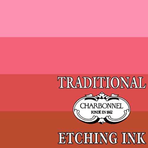 PR48:2-PV19 Geranium Red - Charbonnel Traditional Intaglio Etching Ink