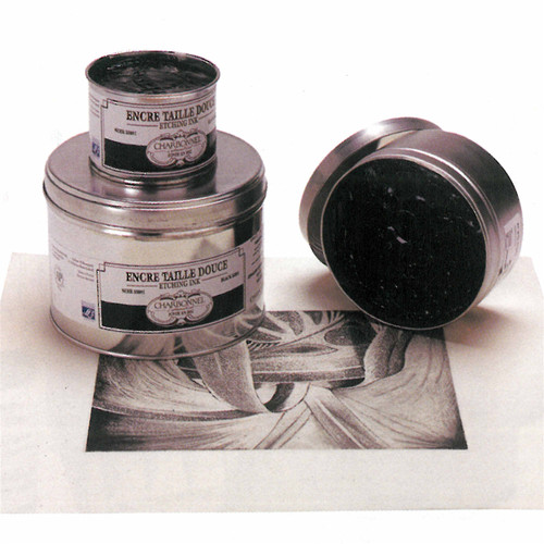 PBk7-PBk6 Black RSR - Charbonnel Traditional Intaglio Etching Ink