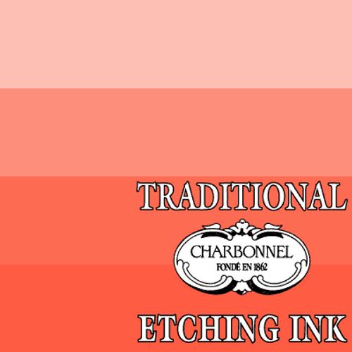 PR188-PY74 Vermilion Red - Charbonnel Traditional Intaglio Etching Ink