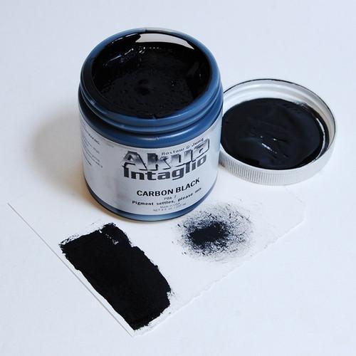 Carbon Black (warm) Akua Intaglio IICB
