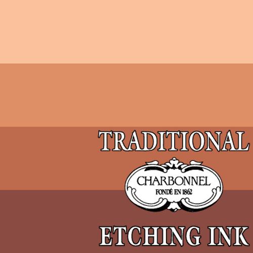 PR101-PBk11 Burnt Sienna - Charbonnel Traditional Intaglio Etching Ink
