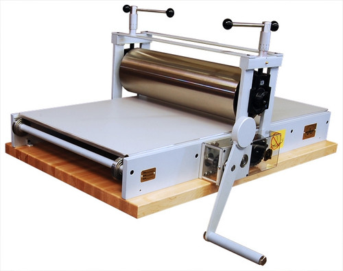 2448 Table Top Etching Press With 4.5 in. Diameter Upper Drum