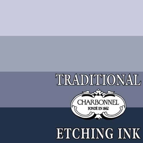 PB29-PBK9 Payne's Grey - Charbonnel Traditional Intaglio Etching Ink