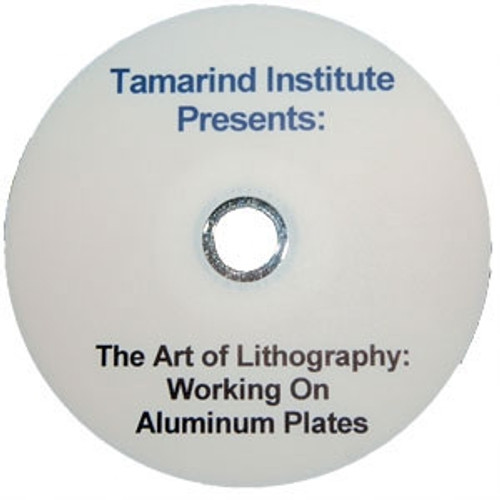 The Art of Lithography Working on Plate-Tamarind Institute