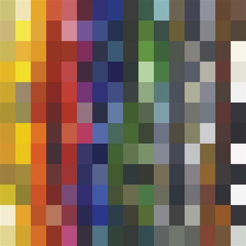Floor Model custom color chart
