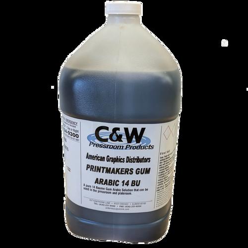 C & W Printmakers Gum Pure Gum Arabic 14° Baume