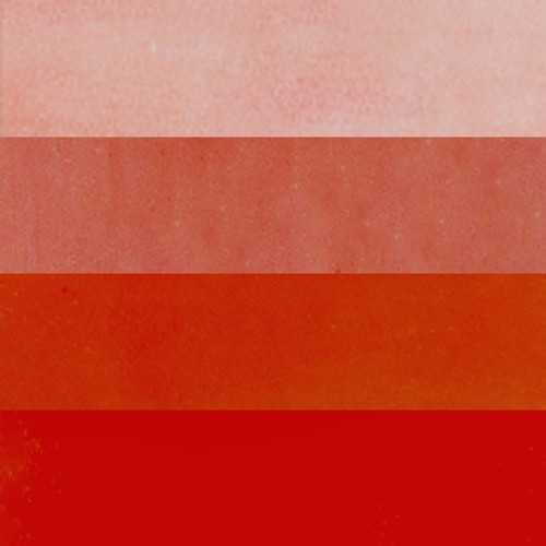 Fire Red Hanco Litho Ink Color Swatch