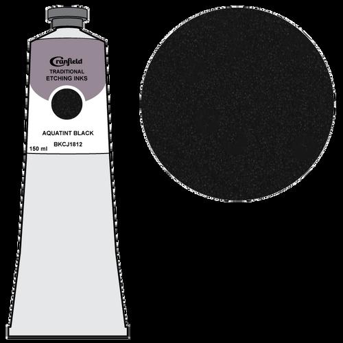 Cranfield Traditional Etching Ink Aquatint Black BKC 1812
