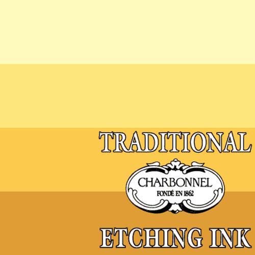 PY42-PBr6 Raw Sienna - Charbonnel Traditional Intaglio Etching Ink