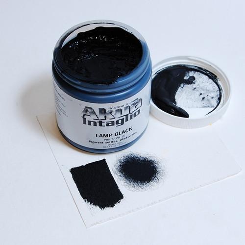 Lamp Black (cool) Akua Intaglio IILB