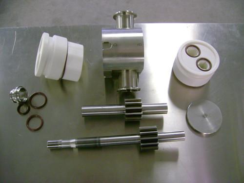 Clear Gear Pump Disassembled