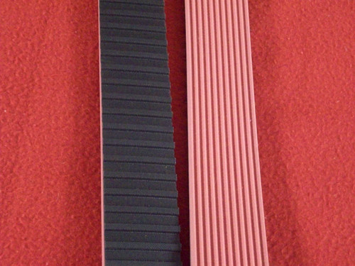 "Belt, 1-1/2"" Grooved Gripper, Used on APACKS Cappers"