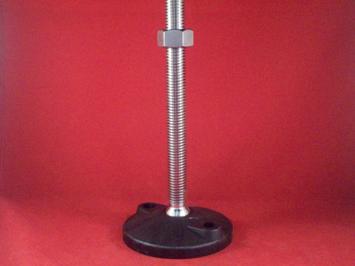 "FOOT, 3/4"" THREADED W/9"" ROD"