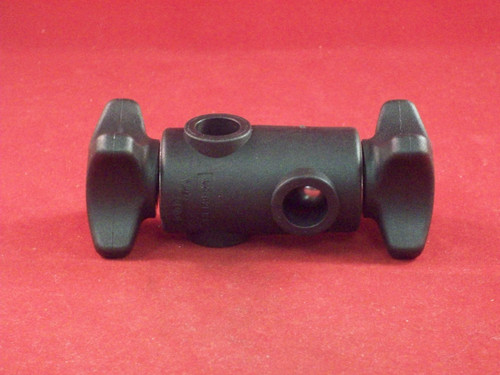"BLOCK, CROSS FOR 1/2"" ROUND ROD"