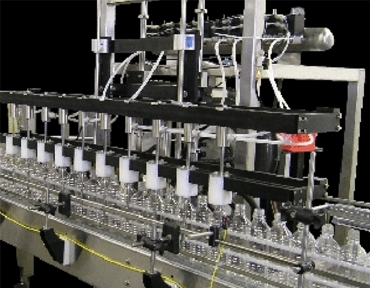 Automatic Air Bottle Rinsers