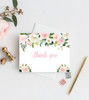Floral baby shower invitation, Flower baby shower invite, watercolor baby shower #5