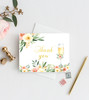 thank you card,bridal brunch and bubbly invitation,brunch & bubbly bridal shower invitations,Brunch and bubbly, bridal shower invitation, brunch, bubbly, bridal invitation, shower invitation, brunch,