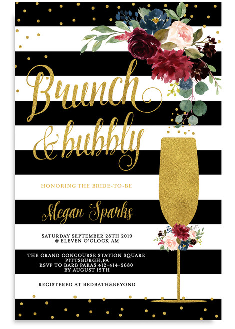 fb8832e5d96c floral brunch and bubbly invitation