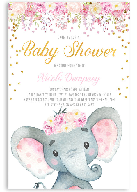 Elephant baby shower invitation,Elephant with flowers, elephant, pink elephant, vintage elephant,baby shower invitation,cheap baby shower invitation, its a girl, cute baby shower invitation,baby shower,baby shower invitations girl,baby shower invitations online,a baby shower invitation cards,baby shower invites girl,baby shower favors,baby shower decorations,baby shower activities,baby shower announcement,invitation wording,baby shower book request,baby shower brunch,baby shower animal theme,baby shower elephant theme,baby shower invites,cheap invitations printing,cheap invitations cards,cheap invitations for baby shower