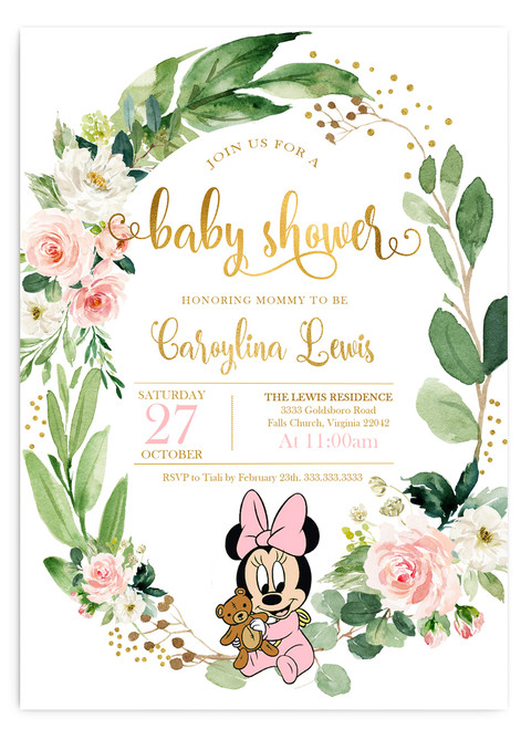 Minnie mouse baby shower invitation,Minnie mouse baby shower invitation, pink and gray invitation, pink Minnie mouse shower invitation, cheap baby shower invitation, cute baby shower invitation, pink grey baby shower invitation, its a girl, girl baby shower invitation, cheap Minnie baby shower invitation, dream paperie printable, baby shower invitation, pink girl baby shower invitation, cheap and cute, cheap invitations, dream paperie cheap invitations,