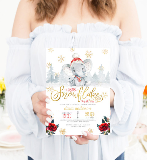 Snowflake baby shower invitation, Holiday baby shower, Christmas baby shower invitation, Snowflake shower invitation,winter baby shower,winter baby shower,baby shower invite,baby invitation,christmas shower,christmas baby,snow baby shower,baby winter, holiday baby invite