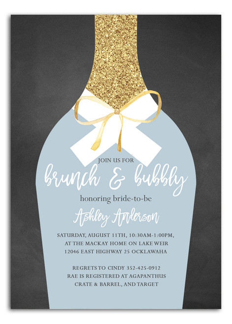 Brunch and bubbly, bridal shower invitation, brunch, bubbly, bridal invitation, shower invitation, brunch,floral brunch and bubbly invitation,chalkboard flowers, glitter champagne glass, brunch and flowers,boho bridal shower, floral, cheap bridal shower invitation, modern bridal shower, cute bridal shower invitation, retro bridal shower invitation, elegant, affordable bridal shower invitation,wedding invitation,occasion, cute,bachelorette party, bride, whimsical,printed, dream paperie, formal invitations, dinner invitation,custom invitation, card stock, samples, wed, bridal shower thank you cards