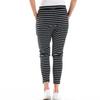 JADE LOUNGE PANTS-BLACK & WHITE STRIPE