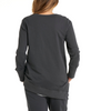 BETTY BASICS DOLLY SWEAT-GUNMETAL SIZE 8-22