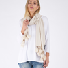 NEPTUNE SCARF- NATURAL