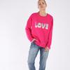 BETTY BASICS POPPY SWEAT- LOVE