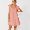 EADIE DRESS - ROSE