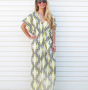 BELLA ELLE KAFTAN MAXI DRESS