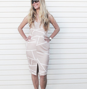 NEW FOUND LOVE DRESS - BEIGE