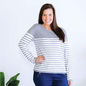 EVE_KNIT _GREY_WHITE_STRIPE