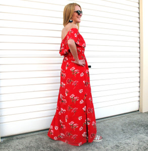 VALENTINA_OFF_THE_SHOULDER_FLORAL_MAXI_RED_BACK