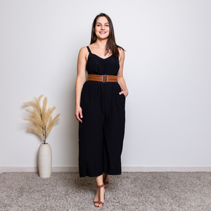 PAULA JUMPSUIT - BLACK