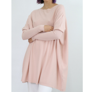ASHLEY OVERSIZED KNIT - BLUSH