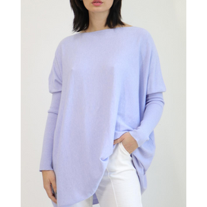 ASHLEY OVERSIZED KNIT -LILAC