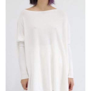 ASHLEY OVERSIZED KNIT - CREAMY WHITE