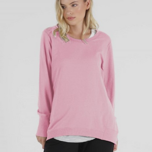 BETTY BASICS DOLLY SWEAT-PINK