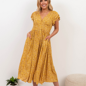BALINA_MIDI_DRESS_MUSTARD_YELLOW
