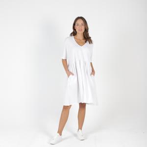 PORTSEA DRESS - WHITE