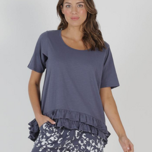 SORRENTO TEE- INDI BLUE