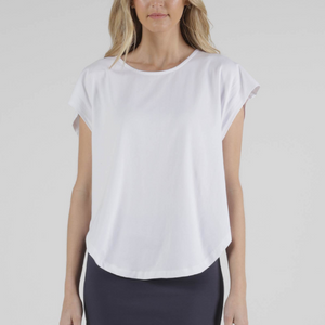 TULIP TOP -WHITE